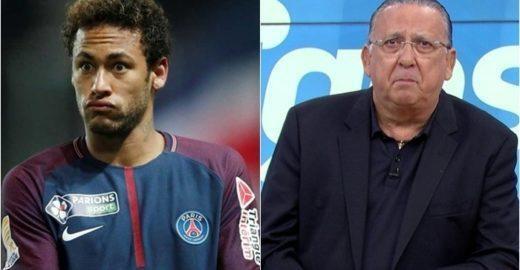 Ao vivo, Galvão Bueno detona Neymar e repercute na web