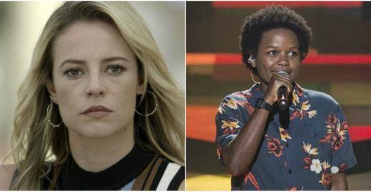 The Voice: Paolla Oliveira lamenta eliminação de Priscila Tossan