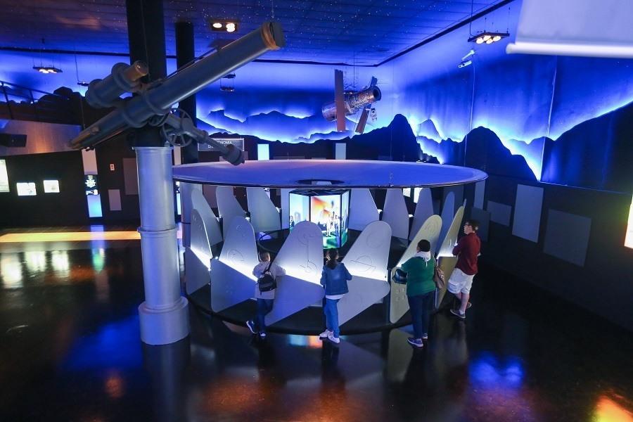 Museu do Universo no Planetário da Gávea