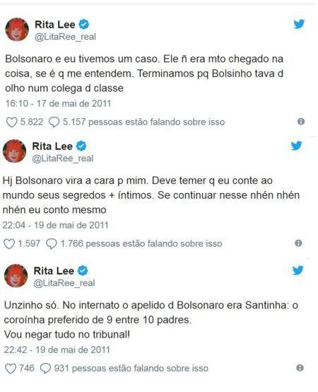 tweets rita lee bolsonaro