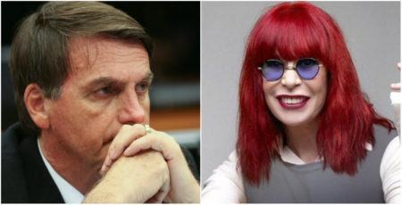 Rita Lee e Bolsonaro