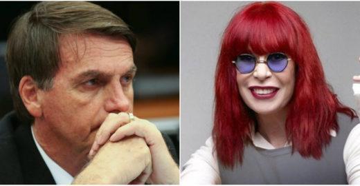 Tweet polêmico de Rita Lee sobre Jair Bolsonaro é fanfic