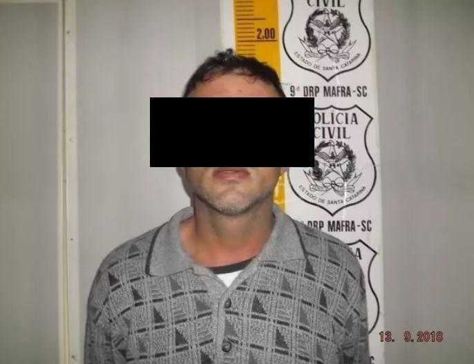 Homem preso suspeito de estuprar sobrinha