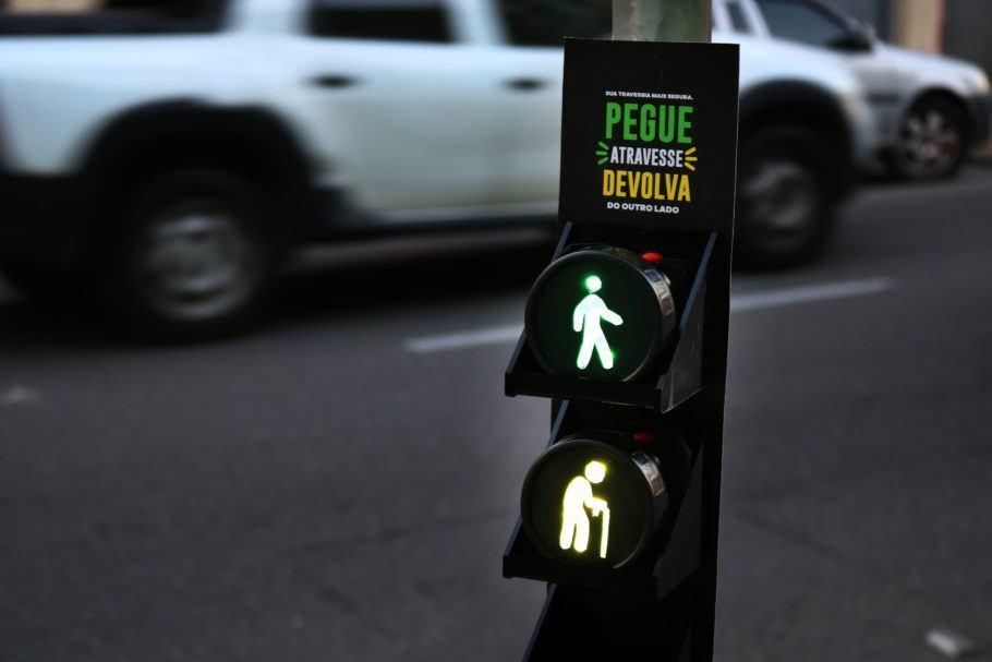 Por uma travessia de pedestres mais iluminada