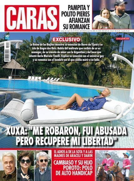 Xuxa na Caras argentina