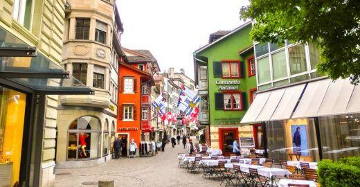 Saiba como fazer um bate e volta para Zurique, na Suíça