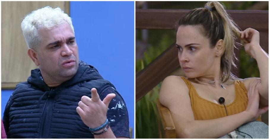 Ex peão não poupou criticas a Ana Paula Renault, que esteve também em A Fazenda e foi a causadora de diversas brigas no reality show.