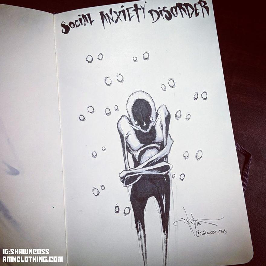 ilustração pessoa fechada