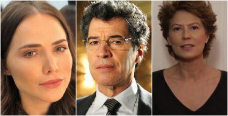 Letícia Colin, Paulo Betti e Patricia Pillar