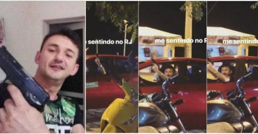 Fã de Bolsonaro que desfilou com arma em carreata é morto por PM