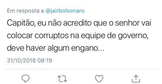 Jair me arrependi: eleitores de Bolsonaro se mostram arrependidos