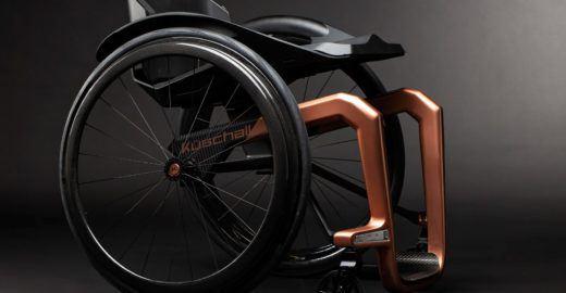 Cadeira de rodas de grafeno quer ser a mais leve e forte de todas