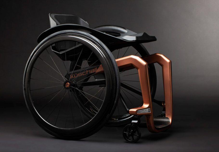 A cadeira de rodas de grafeno promete maior conforto e mobilidade para o usuário