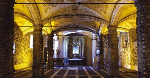 Capelas dos Ossos é um dos monumentos sinistros do Alentejo