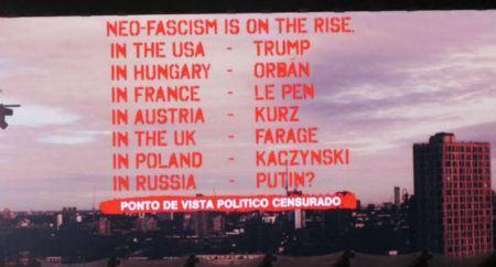 roger waters censura protesto show