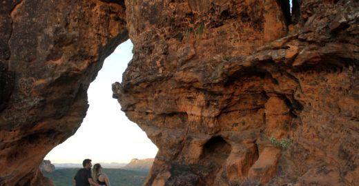 Pôr do sol em Carolina é atração no Maranhão; veja vídeo