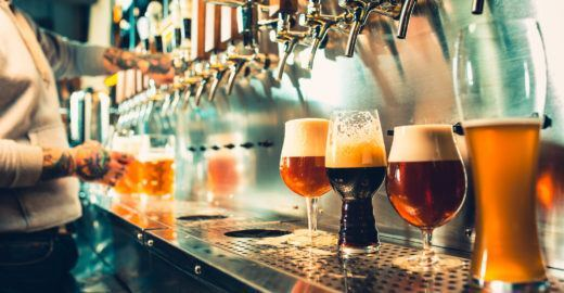 Em Denver, todos os caminhos levam à cerveja