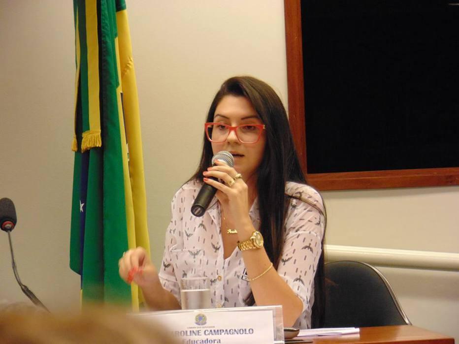 Deputada estadual Ana Caroline Campagnolo (PSL)