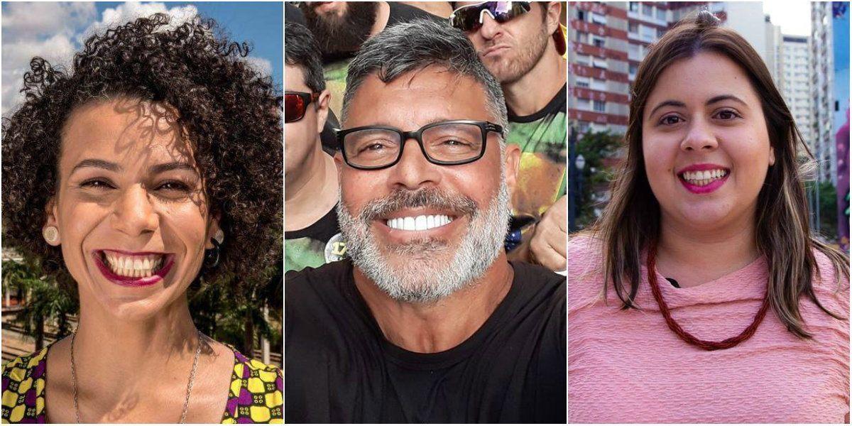 Aurea Carolina, Alexandre Frota e Samia Bomfim
