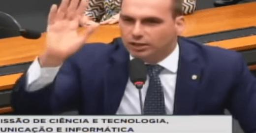 Em mais um vídeo, Eduardo Bolsonaro faz críticas ao STF