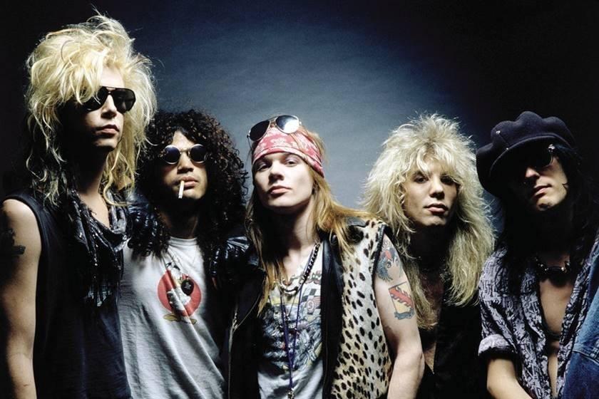 Integrantes do Guns n' Roses
