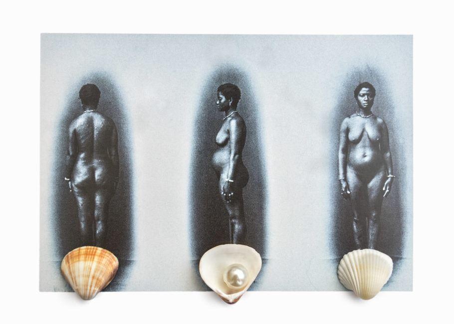Obra Vênus de Gamboa da exposição Mãe Preta