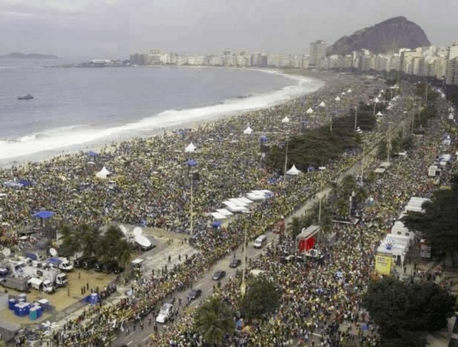 Jornada Mundial da Juventude em Copacabana, Rio de Janeiro