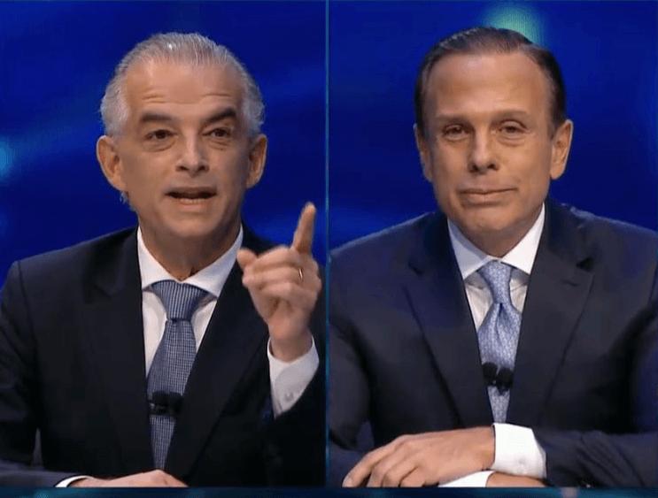 Márcio França e João Doria