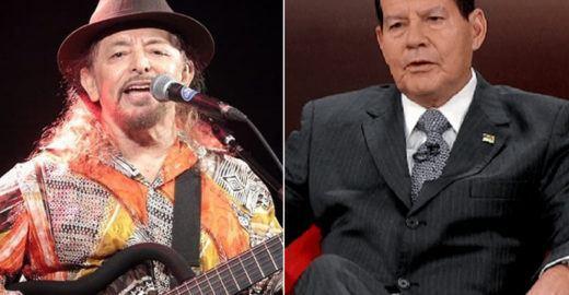 Geraldo Azevedo admite erro e nega que Mourão o tenha torturado