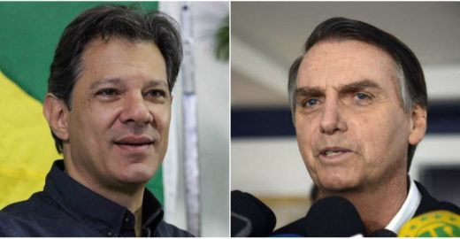 Ibope: Haddad vai a 43% e diminui vantagem de Bolsonaro