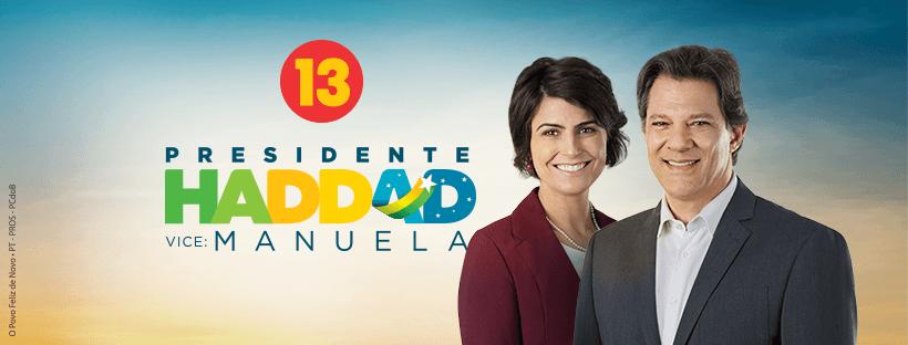 Fernando Haddad tira vermelho do PT, mas campanha, por falta de votos,continua no vermelho.