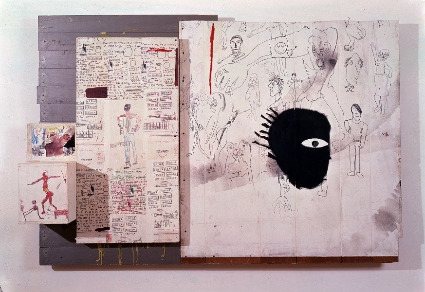 JEAN-MICHEL BASQUIAT | Amargurado [Embittered], 1986