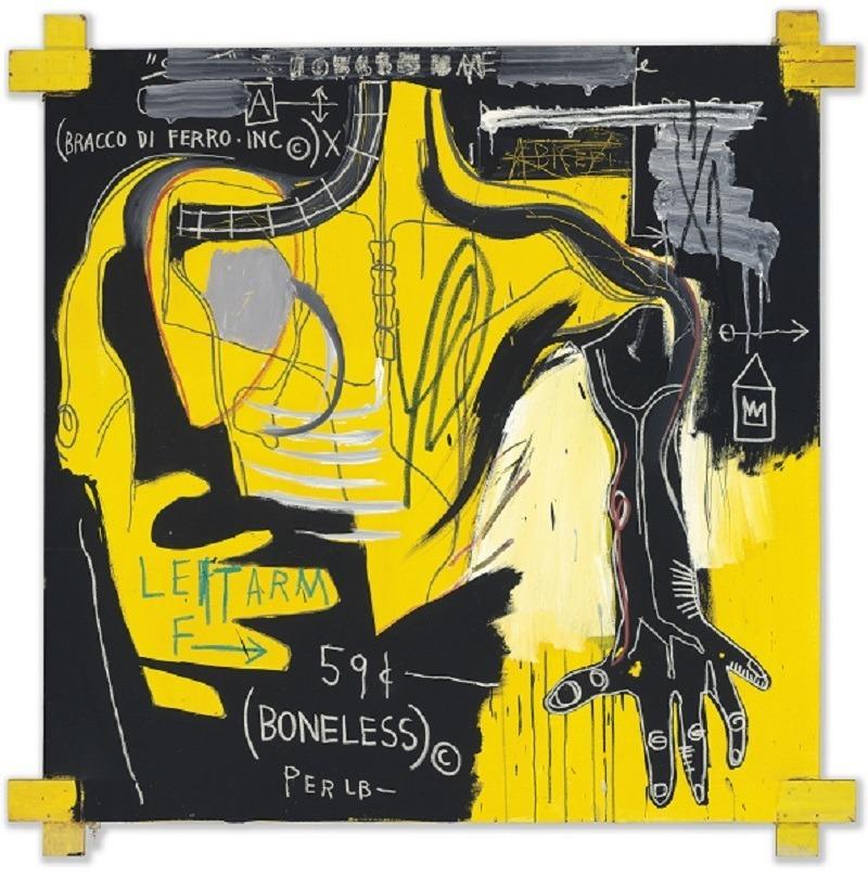JEAN-MICHEL BASQUIAT | Sem título [Untitled] (Bracco di Ferro), 1983
