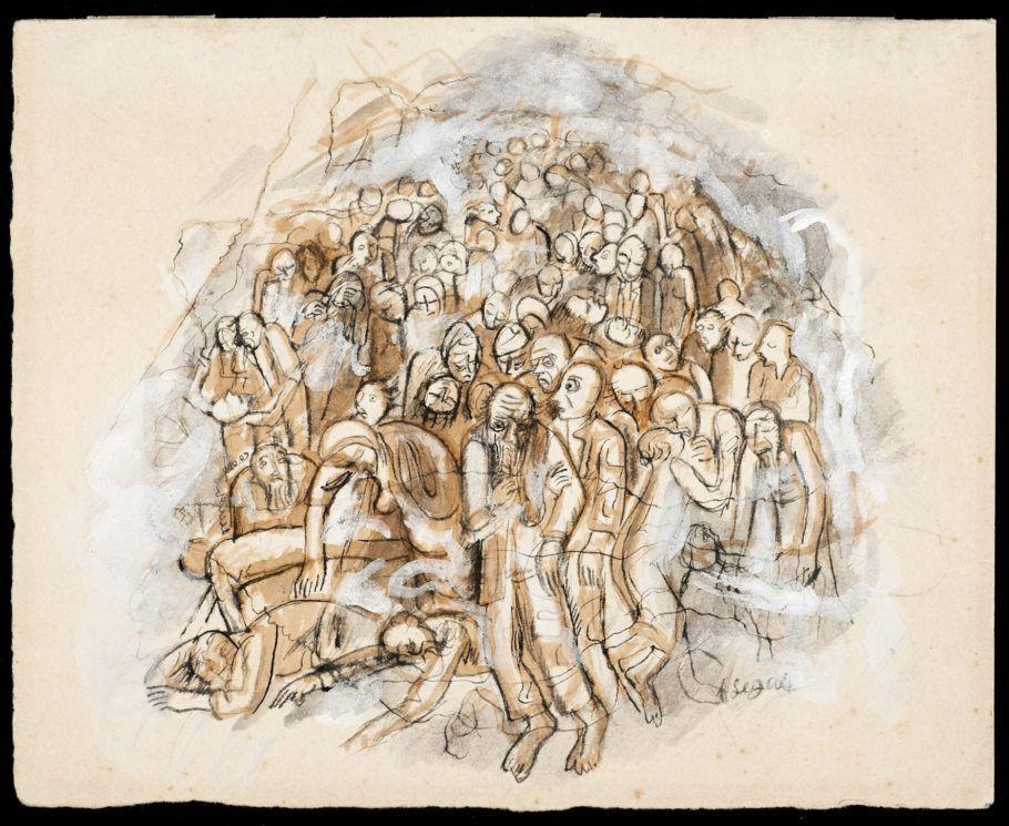 Desenho Original do Caderno Visões de Guerra