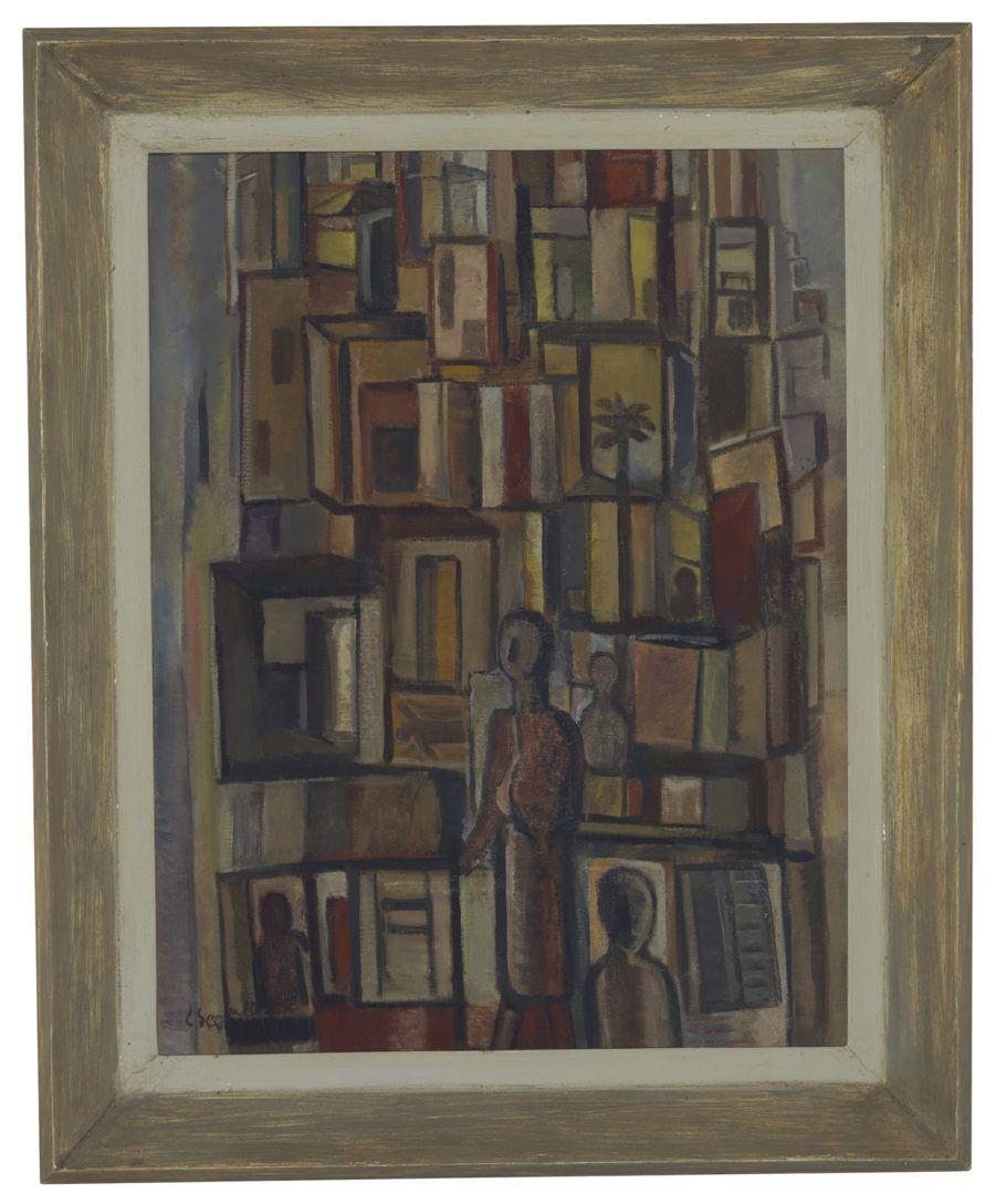 """Pintura """"Favela"""", de Lasar Segall"""