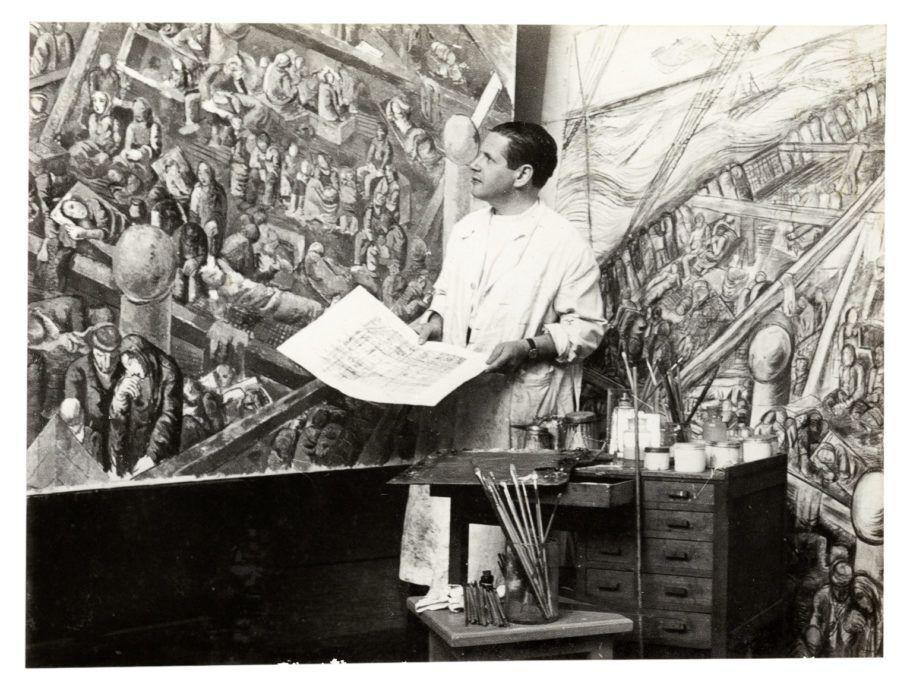 Retrato em preto e branco de Lasar Segall