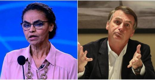Marina Silva detona Bolsonaro, diz que ele amarelou e é aplaudida