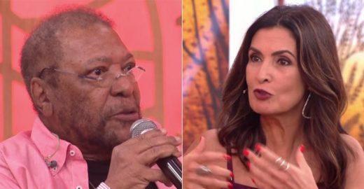 Fátima Bernardes ironiza fala de Martinho da Vila no 'Encontro'