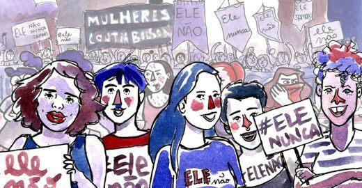 #EleNão em quadrinhos