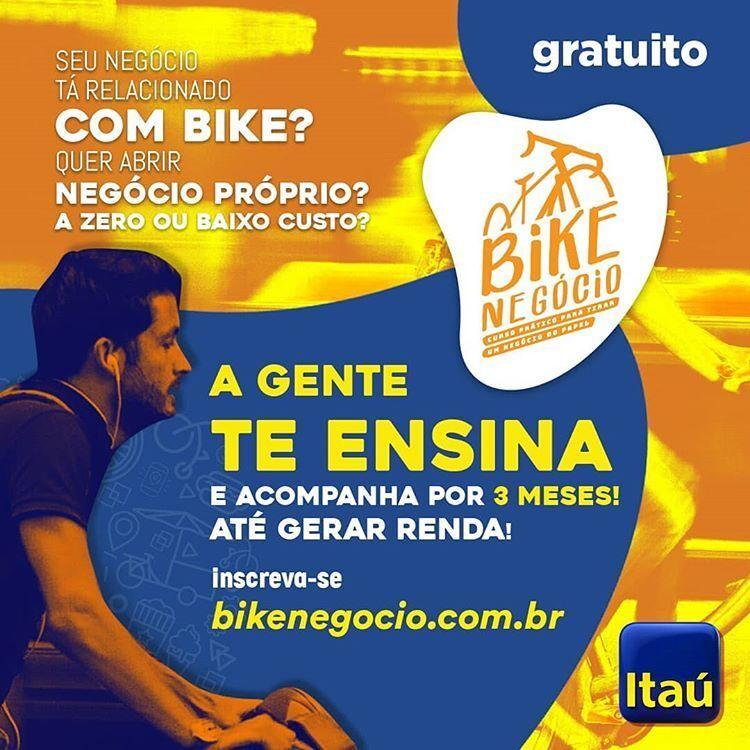 Serão escolhidos cinco negócios com bicicleta