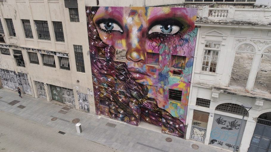 Obra 'Anarkia', de Panmela Castro