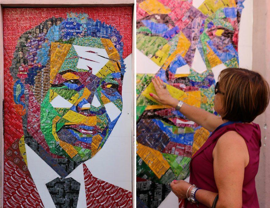 A figura de Mandela