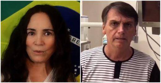 Regina Duarte critica governo Bolsonaro por escolhas culturais