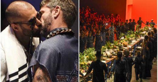 SPFW: Em tempos de ódio, Ronaldo Fraga 'serve' amor na passarela