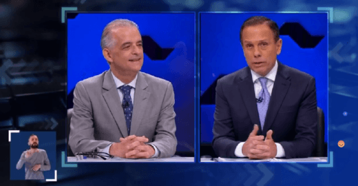 Suposto vídeo íntimo de João Doria é mencionado no debate do SBT