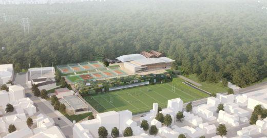 Estádio terá floresta dos arredores de Paris como telhado verde
