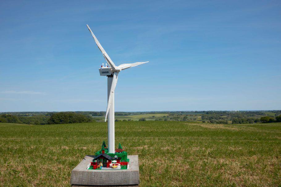 A turbina eólica da Lego deve chegar às lojas em novembro