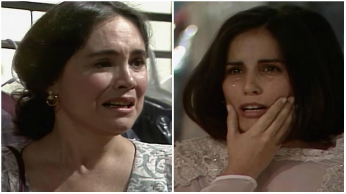 """Regina Duarte e Gloria Pires em cena da novela """"Vale Tudo"""""""