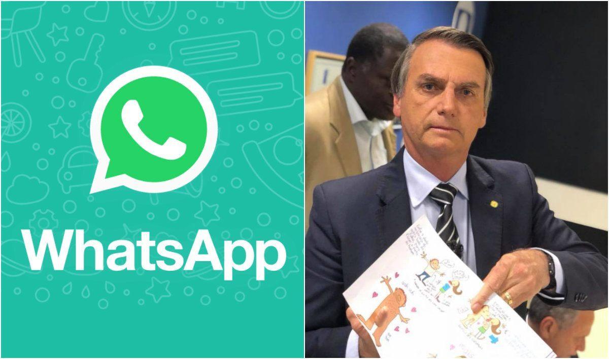 Resultado de imagem para whatsapp campanha bolsonaro