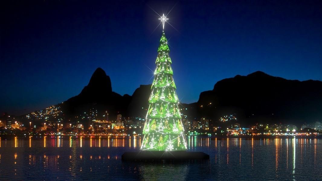Árvore de Natal da Lagoa - Árvore do Rio
